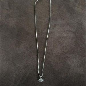 Jewelry - Football necklace